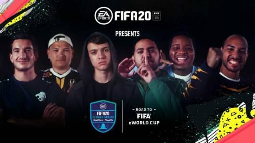 Joueurs esport sur Fifa