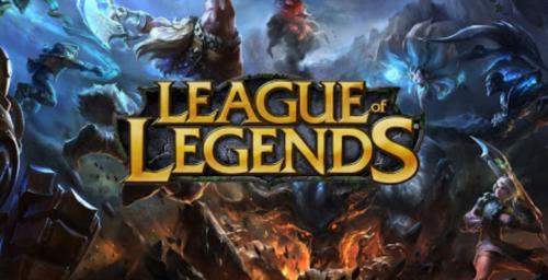 Logo du jeu esport League of Legends