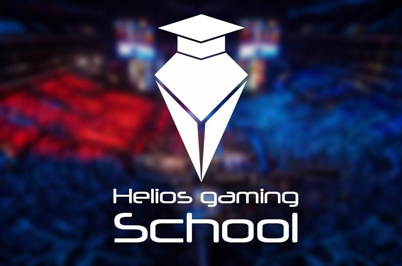 Logo Helios Gaming School