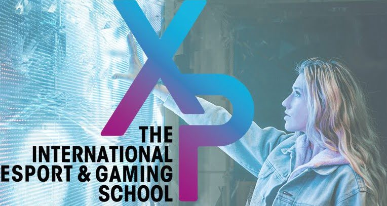 Logo école esport XP School