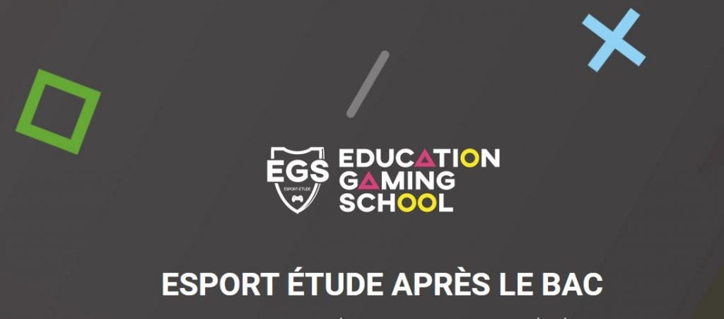 Logo de l'éducation gaming school