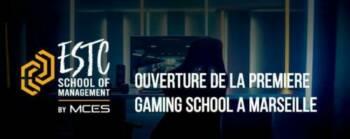 Logo de l'école ESTC gaming school