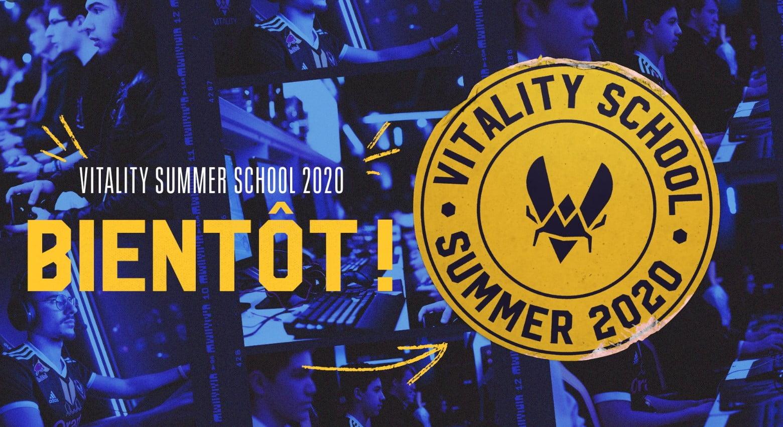Logo Vitality School Summer 2020